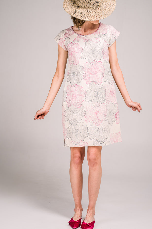 Vivien Dress Camellia Pink