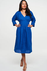 Willa Dress Lapis Blue