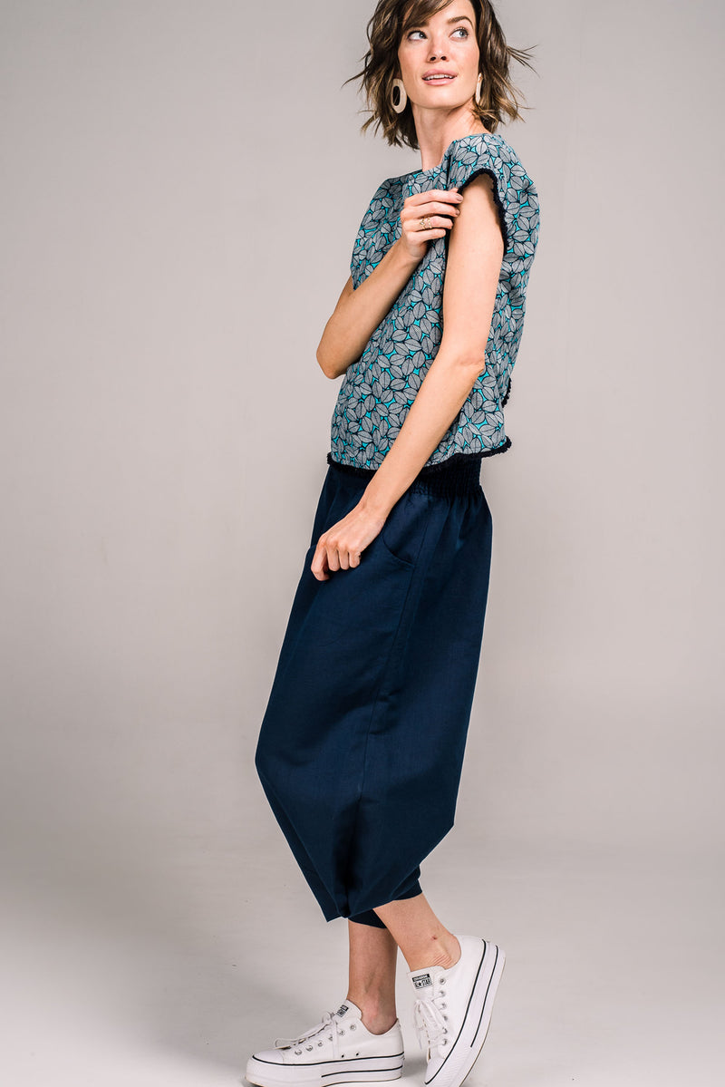 Wren Pant French Navy