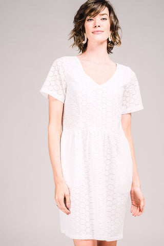 Zinnia Dress Lacey Spot