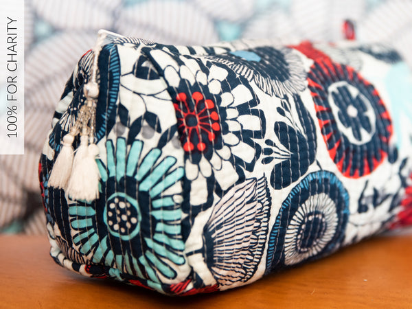 Cosmetic Bag Hothouse Flowers Large