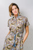 Lori Tunic Olive Wildflower
