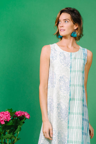 Audrey Dress Gardenia Green