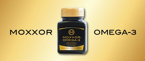 MOXXOR® OMEGA-3 supplements