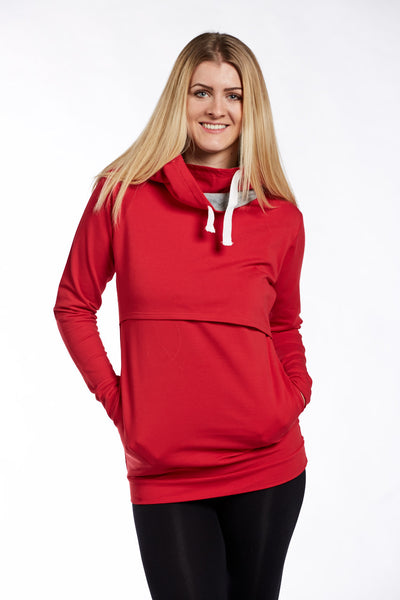 Hoodie Classic Red