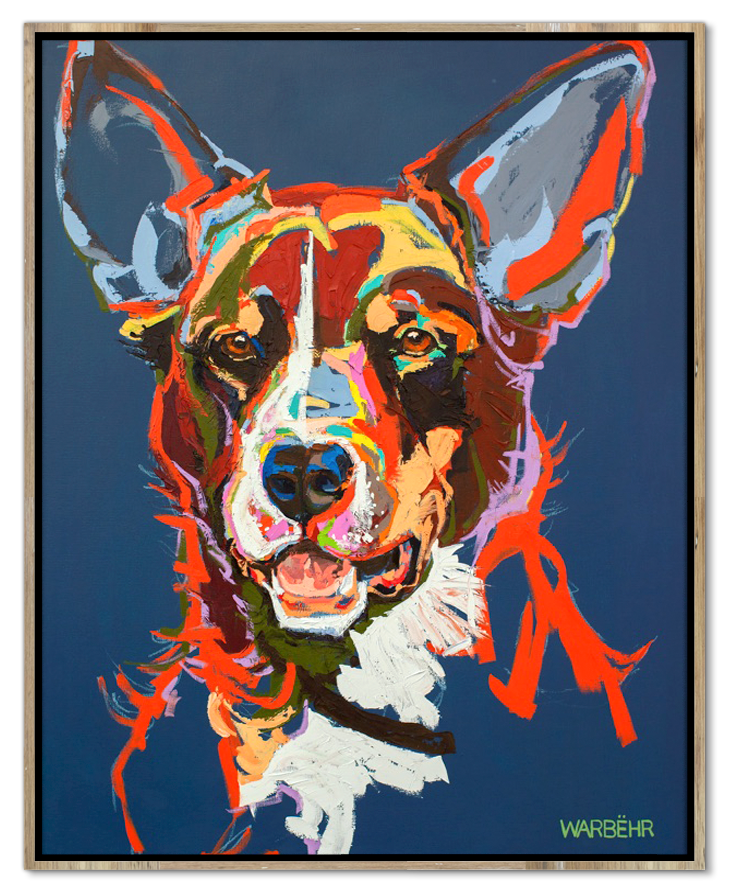 Red Kelpie Art Print