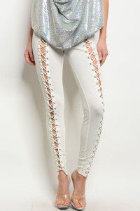 END OF SUMMER SALE!!/Ivory Leggings