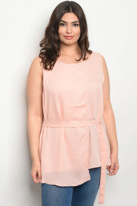 Blush Top/Plus SIze
