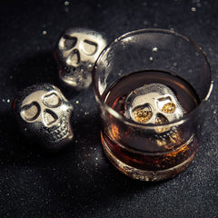 Skull Whiskey Ice Cube