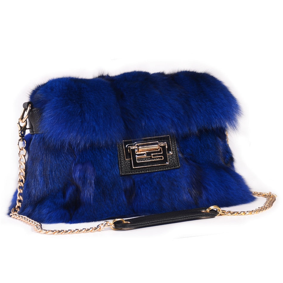 Real Fox Fur Handbags