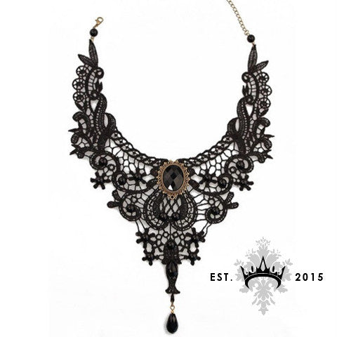 Black Swan Necklace - Elysium Lux  - 1