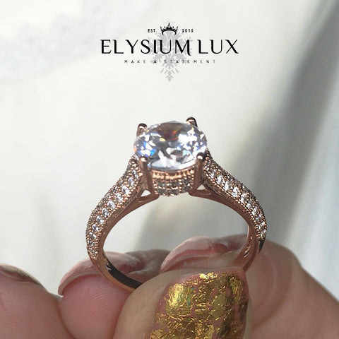 Golden Goddess bling ring - Elysium Lux  - 1