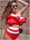 ST TROPEZ TWO PIECE - RED