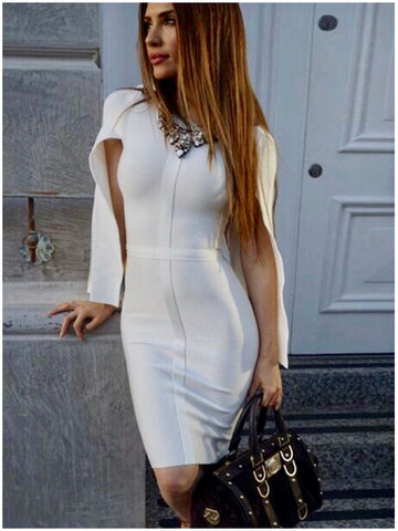 ALEA BANDAGE DRESS - Black or White