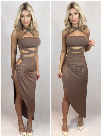 CHARLOTTE WRAP TWO PIECE