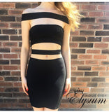 Misha Dress in Black - Elysium Lux  - 2
