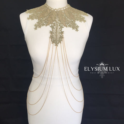 The Countess Body Chain - Elysium Lux  - 1