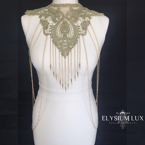 The Baroness Body Chain - Elysium Lux  - 1