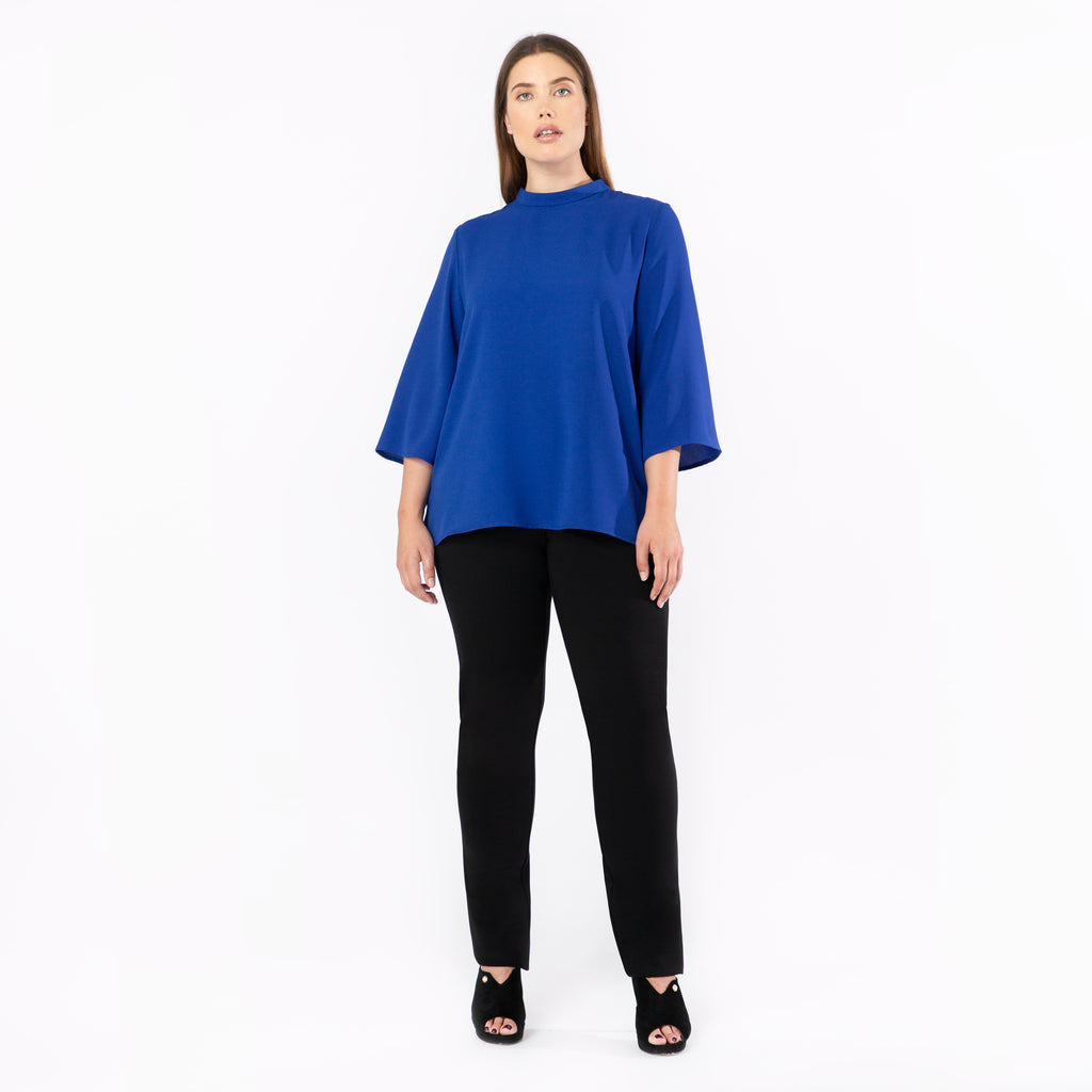 Stand Collar Top