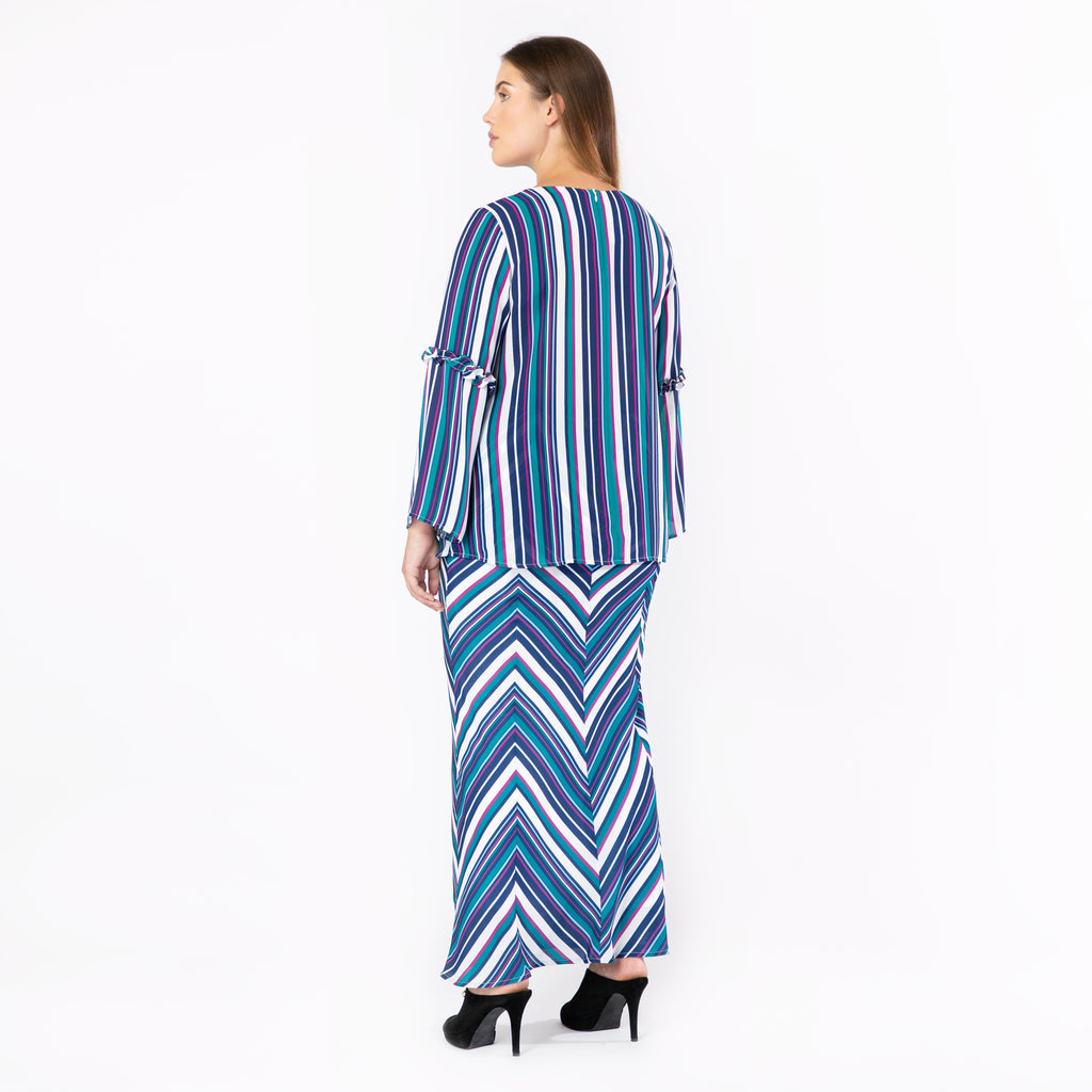 Multiway Striped Skirt