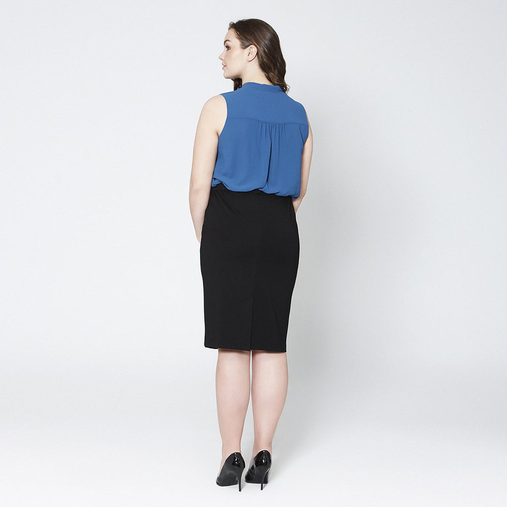 Knited Pencil Skirt