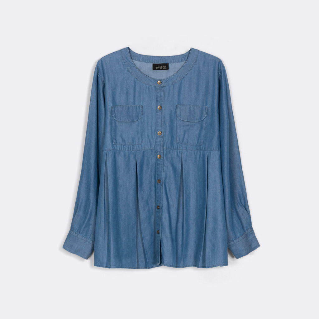 Pleated Detail Top