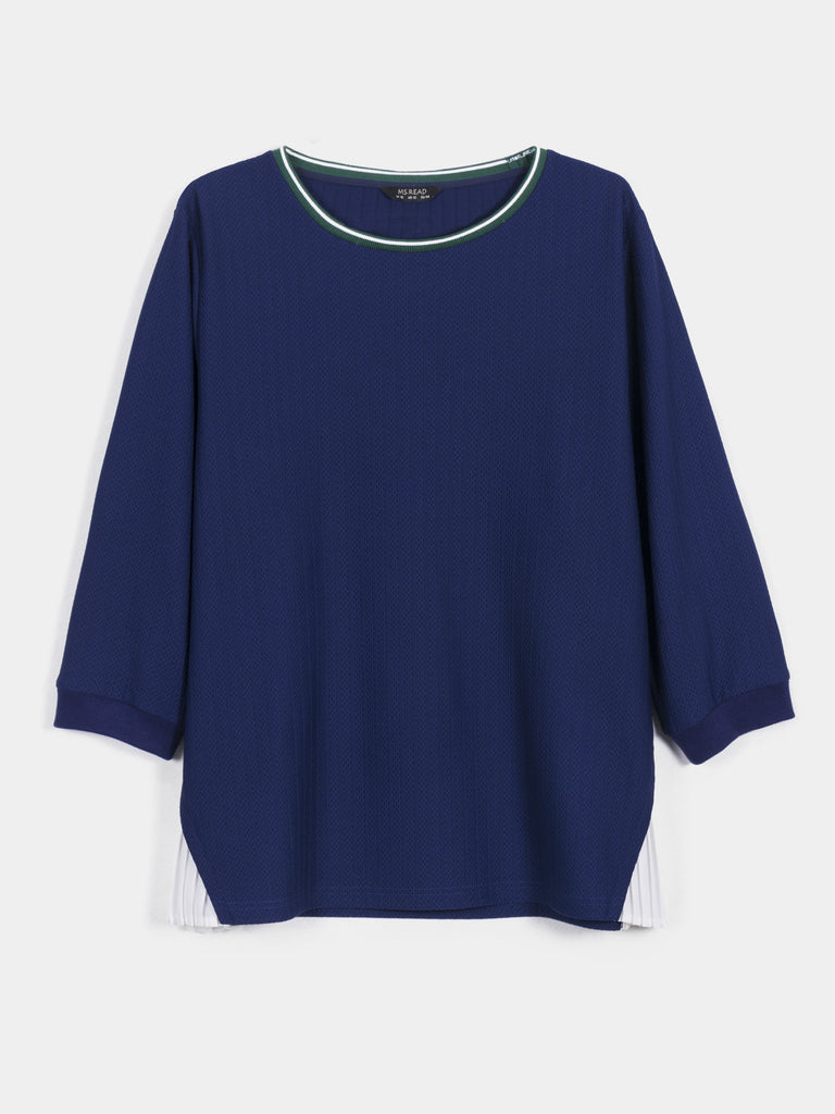 SIDE PLEATED TOP