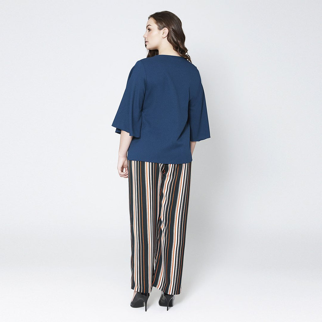 Stripe Straight Pants