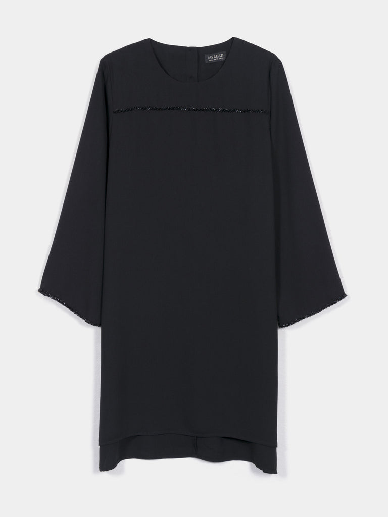 TABBED SLEEVES TUNIC
