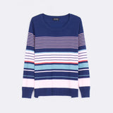 Stripe Round Neck Top