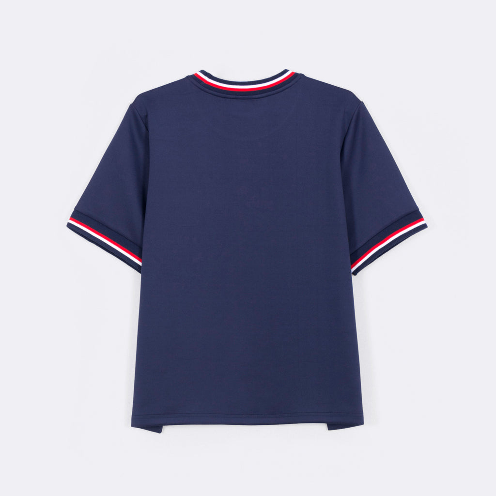 Trimmed Short Sleeve Tee