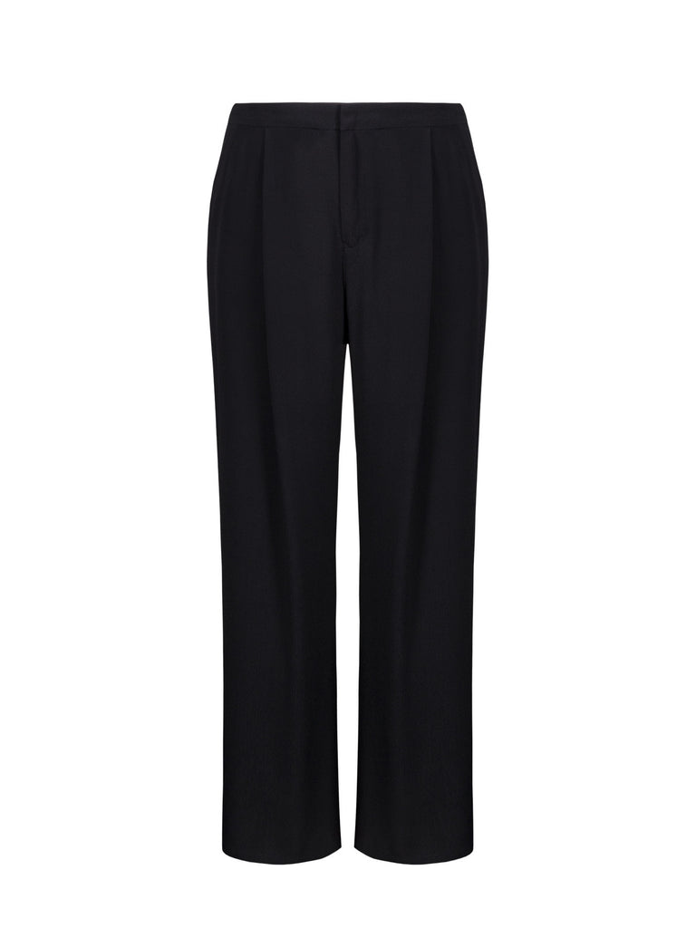 PLEATED RELAX CUT PANTS