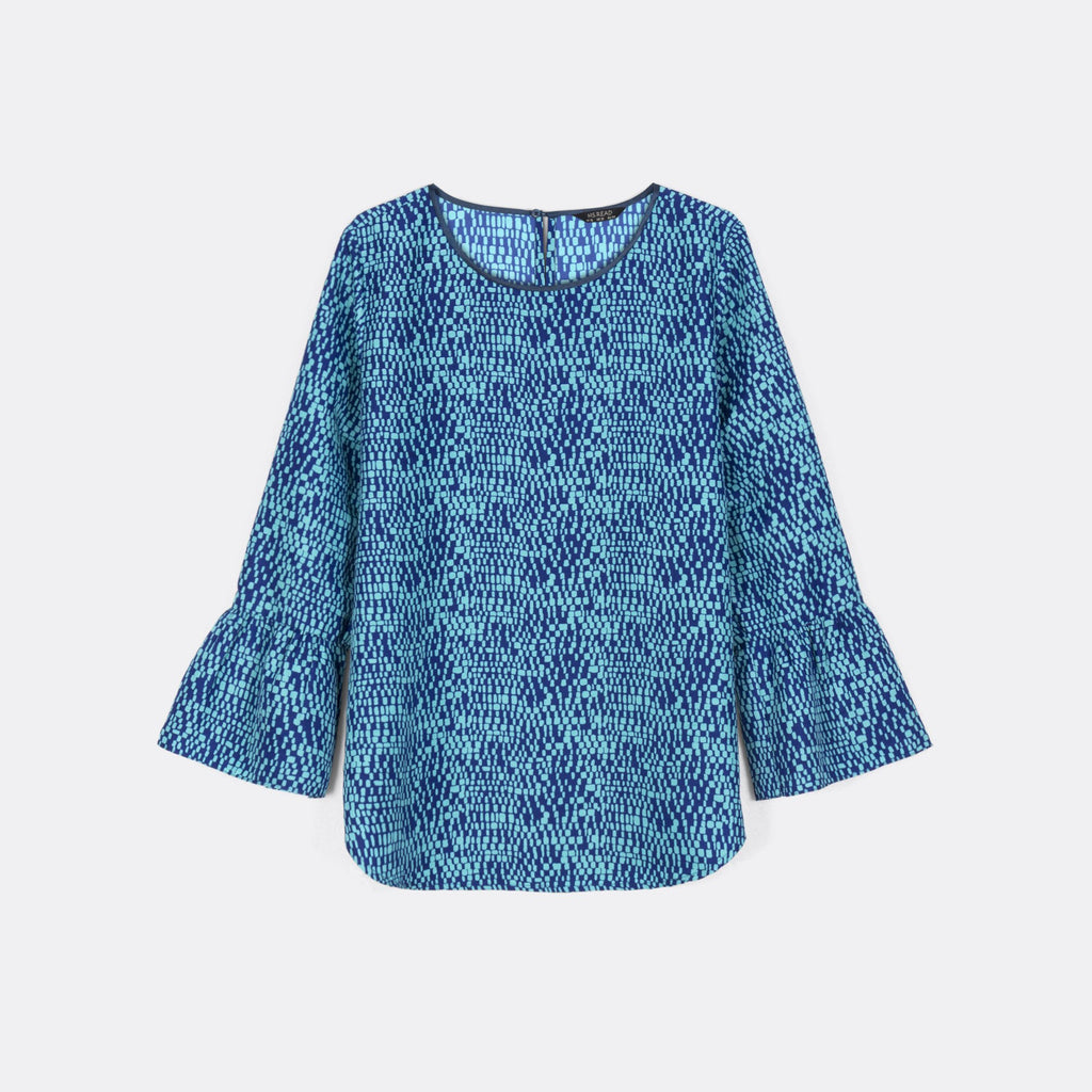 Frilly Sleeve Top