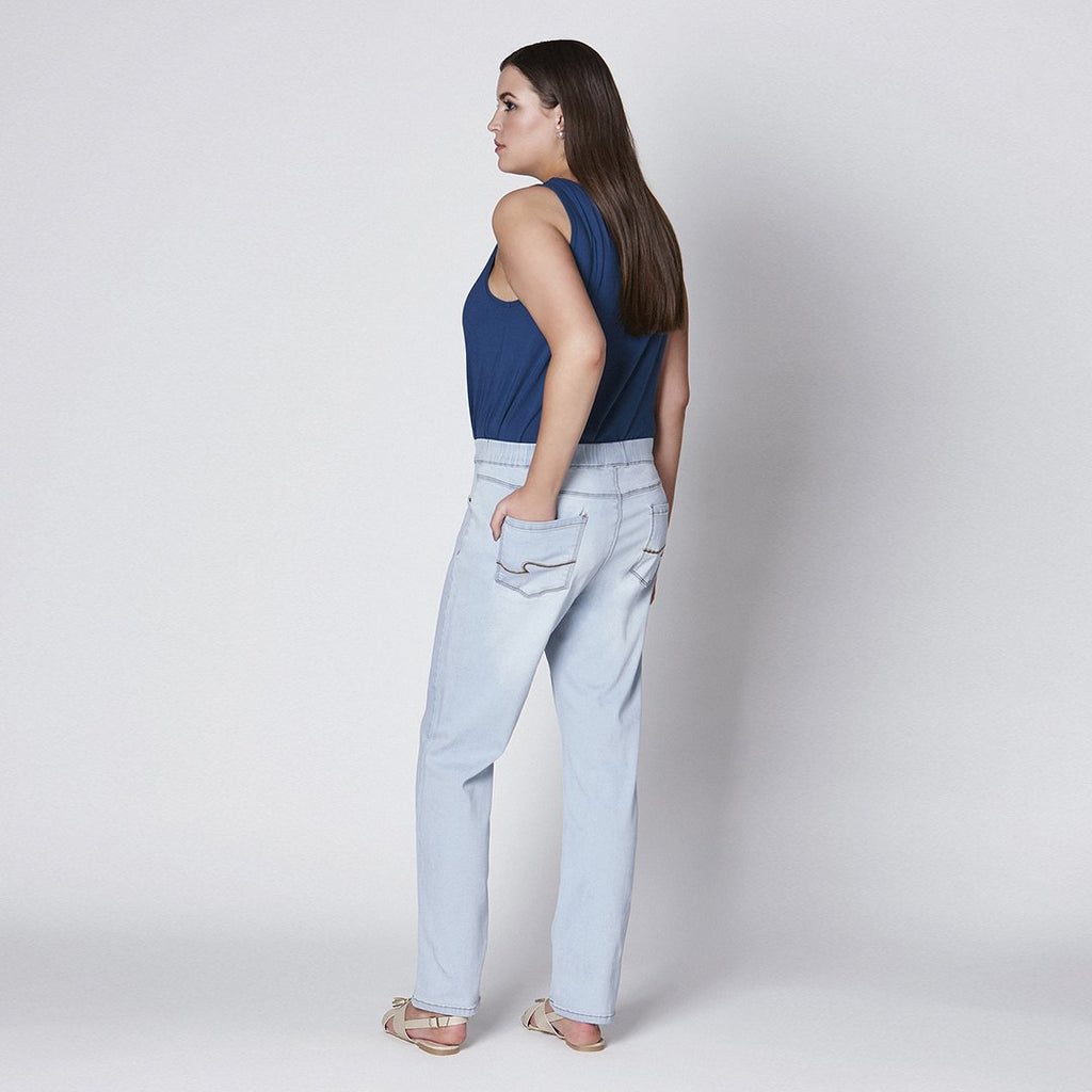 STRAIGHT-CUT JEGGINGS