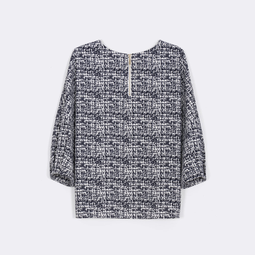 Boxy Printed Top