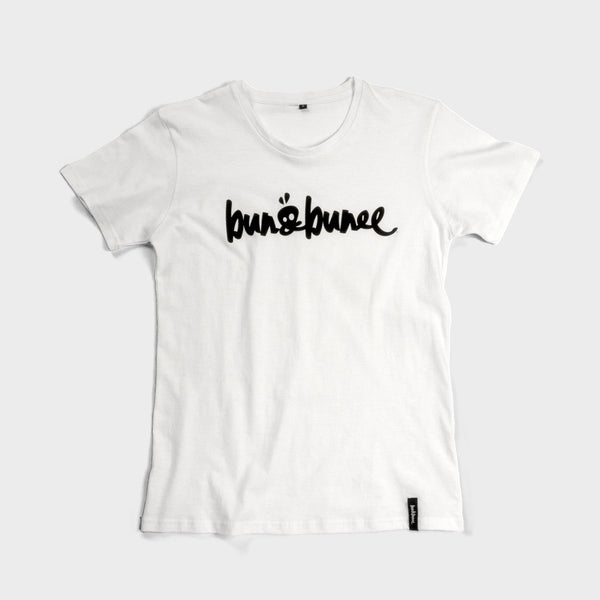 B&B Signature Tee - White - Bun&Bunee