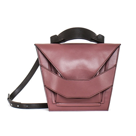 Layered Muted Rose Bag