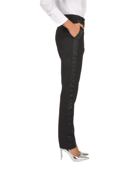 Lunar Tuxedo Trousers in Black