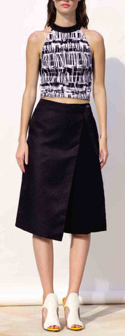 Cool Down Culottes in Black