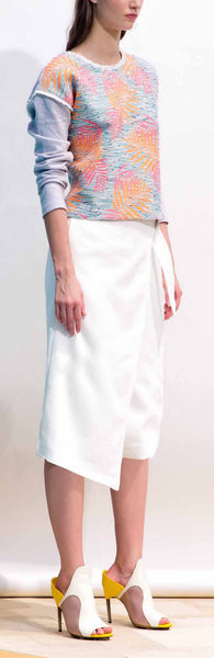 Cool Down Culottes in White
