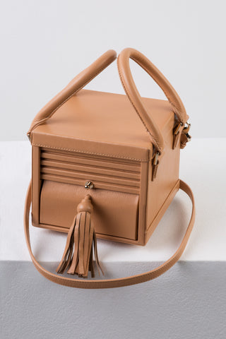 Nude Micro Box Bag