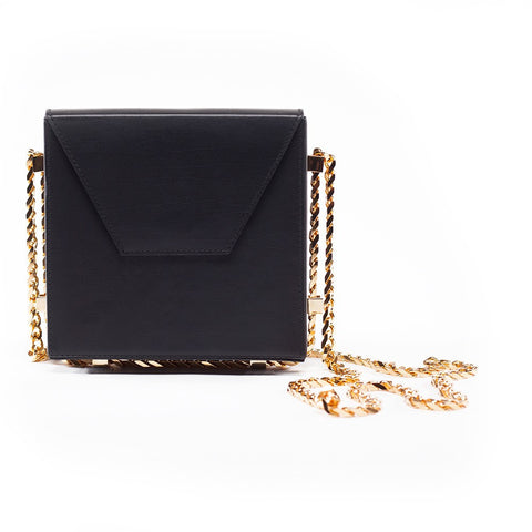 CHAIN BAG | NERO