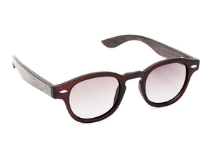Aloha Brown - Grey Sunglasses - 2