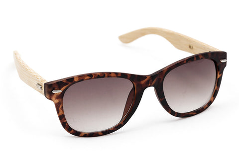 Wood Collections - Mirihi Tortoise - Grey Sunglasses - 2