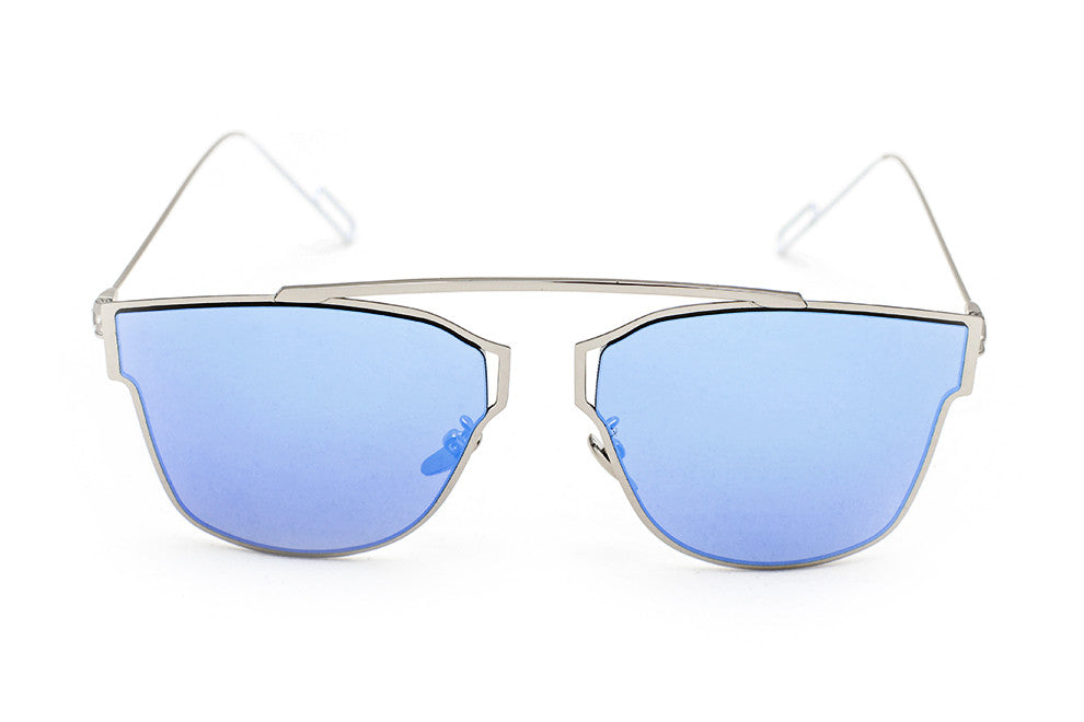 Hollywood Blue - Grey Sunglasses - 1