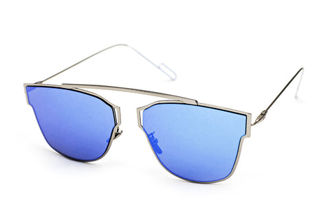 Hollywood Blue - Grey Sunglasses - 2