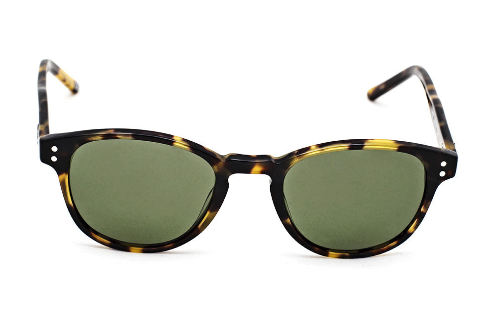 Grey Robinson Tortoise Clear - Green G15 - Grey Sunglasses - 1