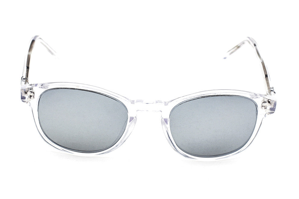Grey Robinson Clear - Silver Mirror - Grey Sunglasses - 1
