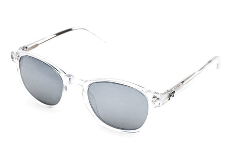Grey Robinson Clear - Silver Mirror - Grey Sunglasses - 2