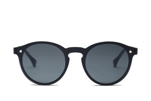 Iceland Black - Gafas de Sol Grey Sunglasses